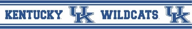 Kentucky 5.5 Inch (Height) Wallpaper Border