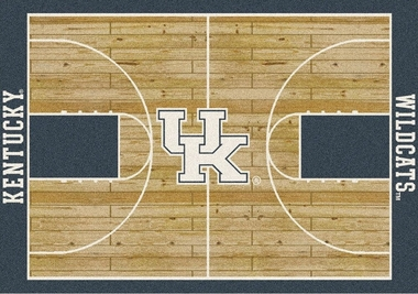 "Kentucky 7'8"" x 10'9"" Premium Court Rug"
