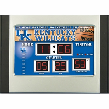 Kentucky Alarm Clock Desk Scoreboard