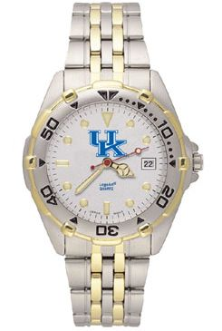 Kentucky All Star Mens (Steel Band) Watch