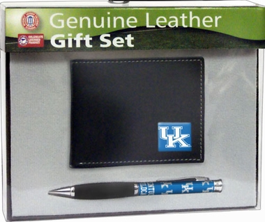 Kentucky Bi-Fold Wallet and Pen Set