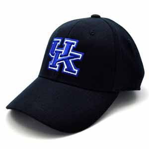 Kentucky Black Premium FlexFit Baseball Hat - Large / X-Large