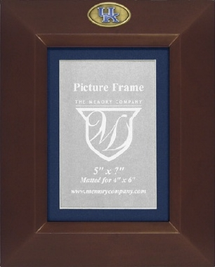 Kentucky BROWN Portrait Picture Frame