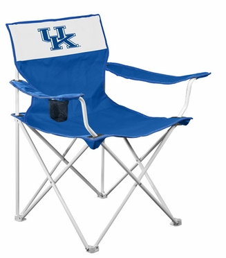 Kentucky Canvas Adult Folding Logo Chair