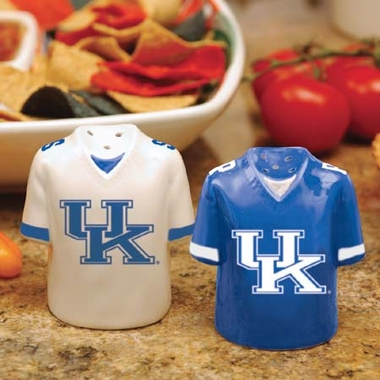 Kentucky Ceramic Jersey Salt and Pepper Shakers