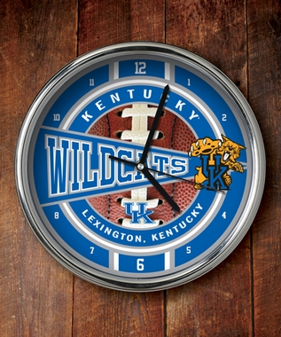 Kentucky Chrome Clock
