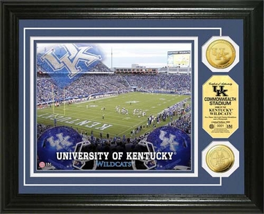 Kentucky Wildcats University of Kentucky Stadium Gold Coin Photo Mint