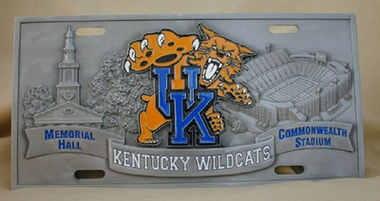 Kentucky Deluxe Collector's License Plate