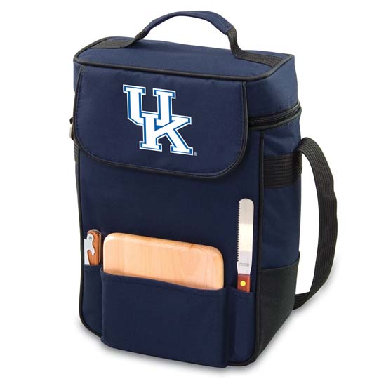 Picnic Time Kentucky Duet Compact Picnic Tote (Navy)