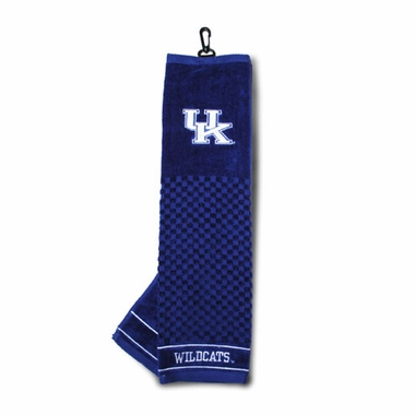 Kentucky Embroidered Golf Towel