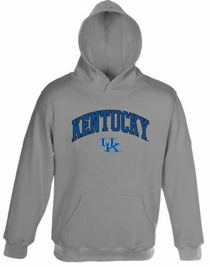 Kentucky Embroidered Hooded Sweatshirt (Grey)