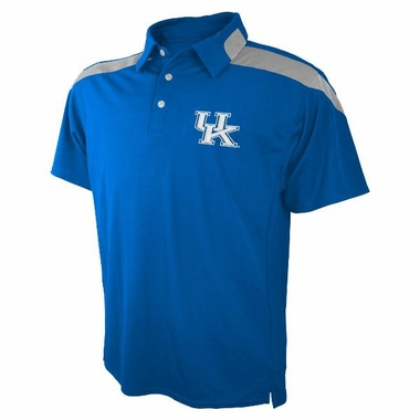 Kentucky Embroidered Logo Polyester Polo Shirt