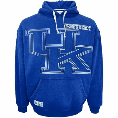 Kentucky Faded Glory Sandblasted Hooded Sweatshirt