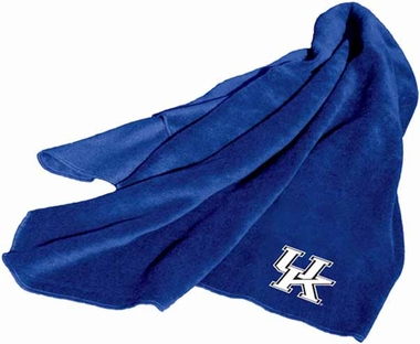 Kentucky Fleece Throw Blanket