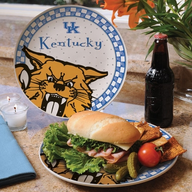 Kentucky Gameday Ceramic Plate