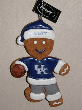 Kentucky Gingerbread Man Christmas Ornament