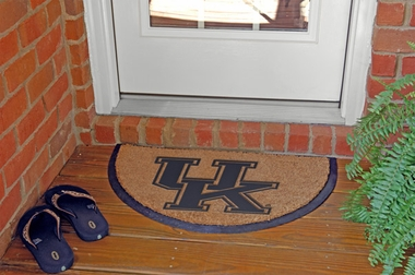 Kentucky Half Moon Door Mat