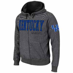Kentucky Hero Full Zip Hooded Jacket - X-Large