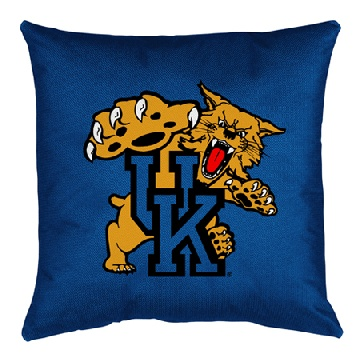 Kentucky Jersey Material Toss Pillow