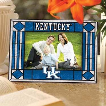 Kentucky Landscape Art Glass Picture Frame