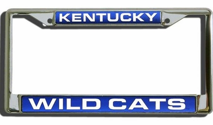 Kentucky Laser Etched Chrome License Plate Frame