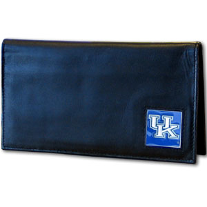 Kentucky Leather Checkbook Cover (F)