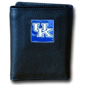 Kentucky Leather Trifold Wallet (F)