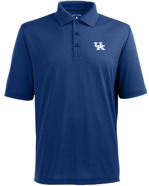 Kentucky Mens Pique Xtra Lite Polo Shirt (Team Color: Royal)