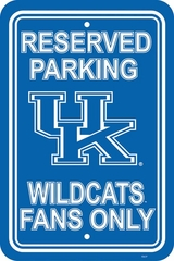 Kentucky Plastic Parking Sign (P)