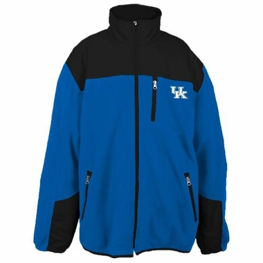 Kentucky Poly Dobby Full Zip Polar Fleece Jacket
