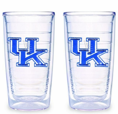 Kentucky Set of TWO 16 oz. Tervis Tumblers