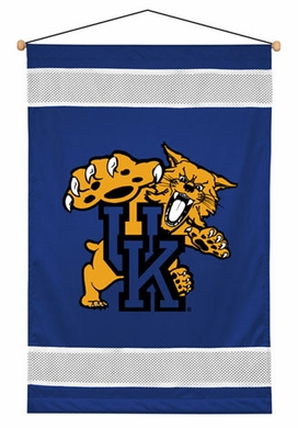 Kentucky SIDELINES Jersey Material Wallhanging