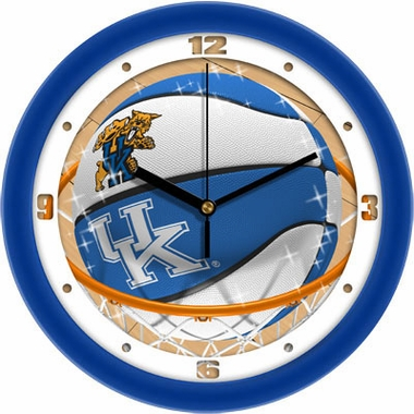 Kentucky Slam Dunk Wall Clock