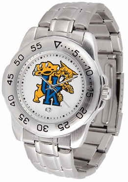 Kentucky Sport Men's Steel Band Watch