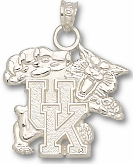 Kentucky Sterling Silver Pendant