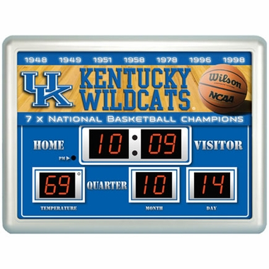 Kentucky Time / Date / Temp. Scoreboard