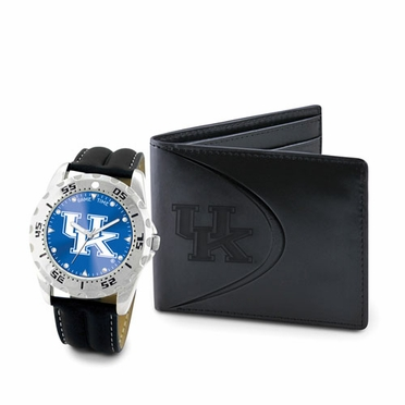 Kentucky Watch and Wallet Gift Set