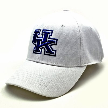 Kentucky White Premium FlexFit Hat