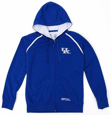 Kentucky Women's Full Zip Performance Hooded Sweatshirt