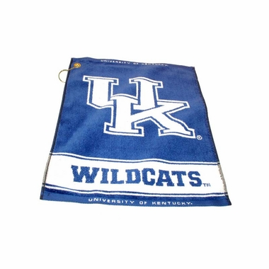 Kentucky Woven Golf Towel
