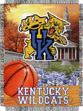 Kentucky Woven Tapestry Throw Blanket