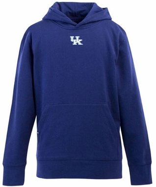 Kentucky YOUTH Boys Signature Hooded Sweatshirt (Team Color: Royal)