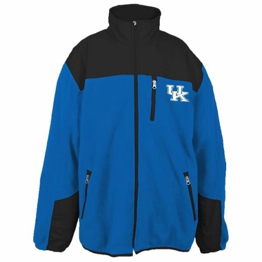 Kentucky YOUTH Dobby Full Zip Polar Fleece Jacket