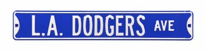 L.A. Dodgers Ave Street Sign