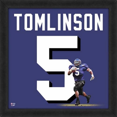 "LaDainian Tomlinson, Texas Christian Horned Frogs Uniframe 20"" x 20"""