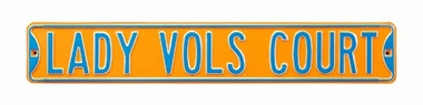 Lady Vols Court Street Sign