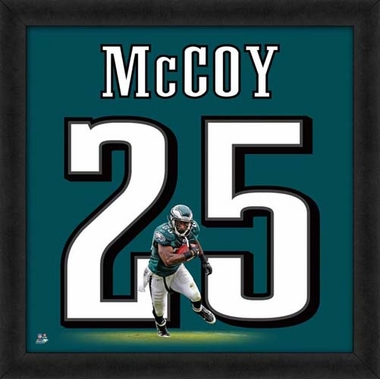"LeSean McCoy, Eagles 20"" x 20"""
