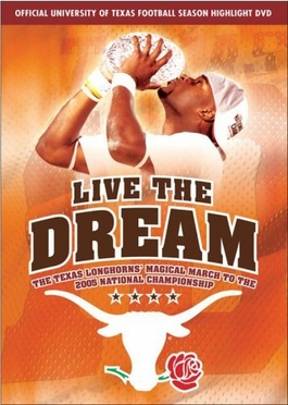 Live The Dream: 2005 Texas National Champions DVD