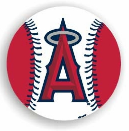 Los Angeles Angels 12 Inch Individual Car Magnet