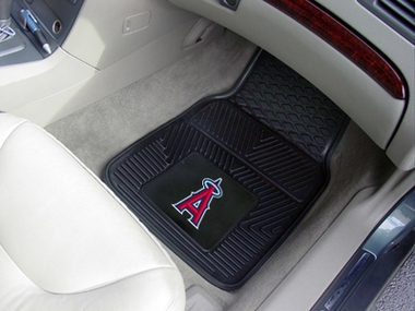 Los Angeles Angels 2 Piece Heavy Duty Vinyl Car Mats